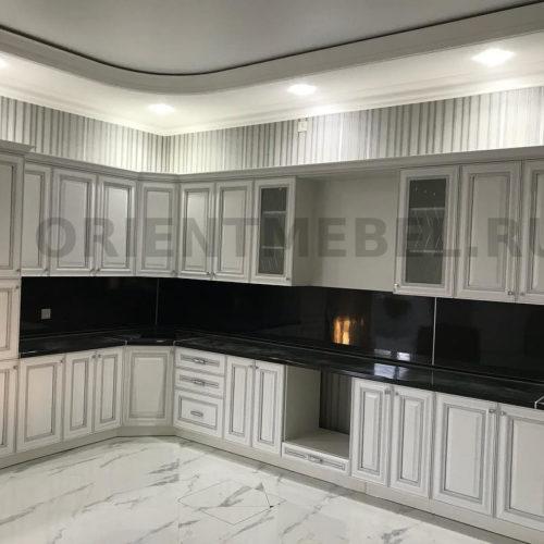 Кухня Наполи Серебро