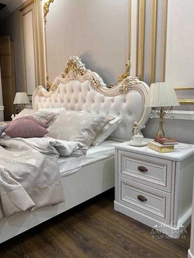 Спальня Натали белый глянец