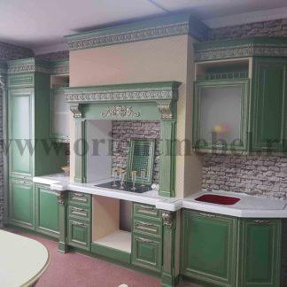 Кухня Зеленый дуб