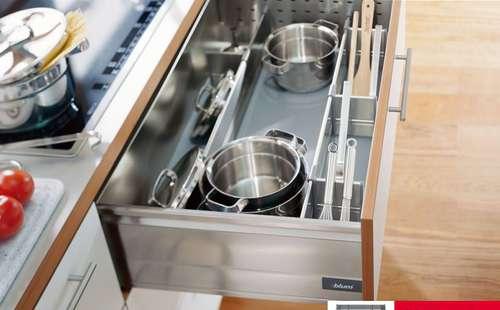 Выбор фурнитуры для кухни