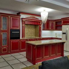 Кухня Ника Красная