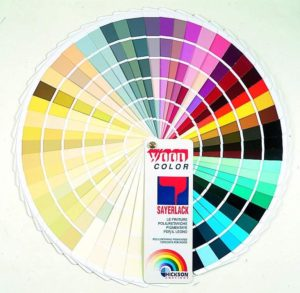 краски саерлак
