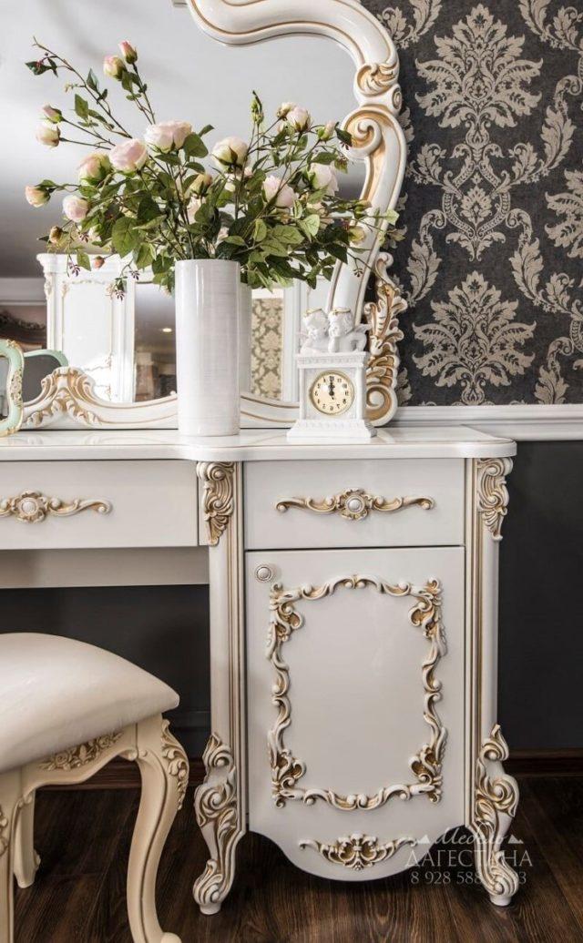 Спальня Флоренция белый перламутр