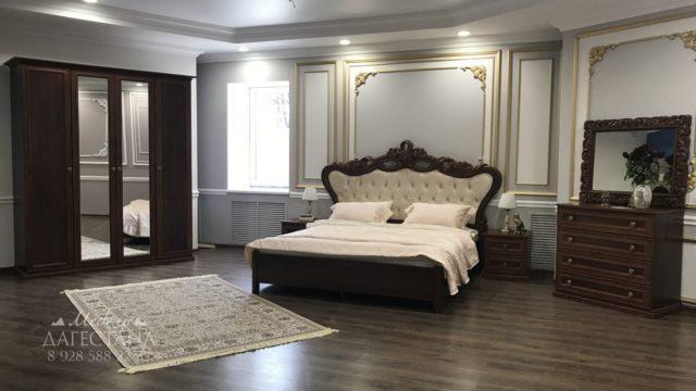 Спальня Афина темный орех