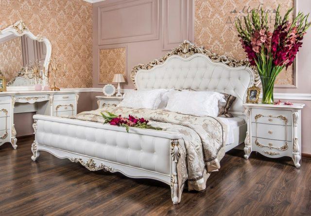 Спальня Анна-Мария белая матовая