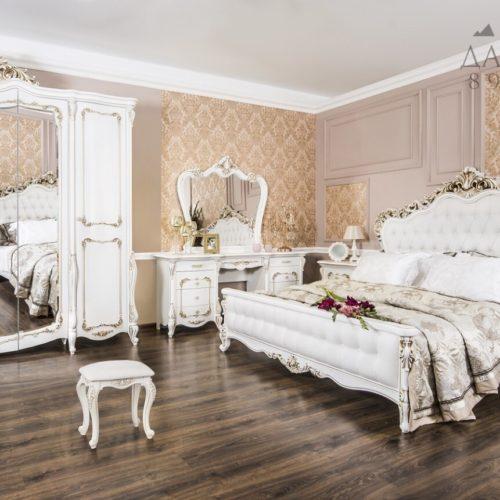 Спальня Анна Мария белая матовая